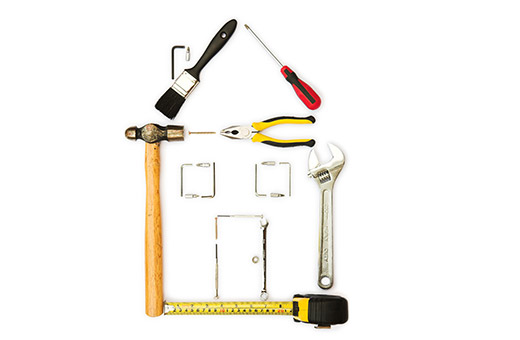 Werkzeug Alle Handwerker Sanierung Wohnungssanierung Wohnungsmodernisierung  Modernisierung Renovierung Wohnungsrenovierung